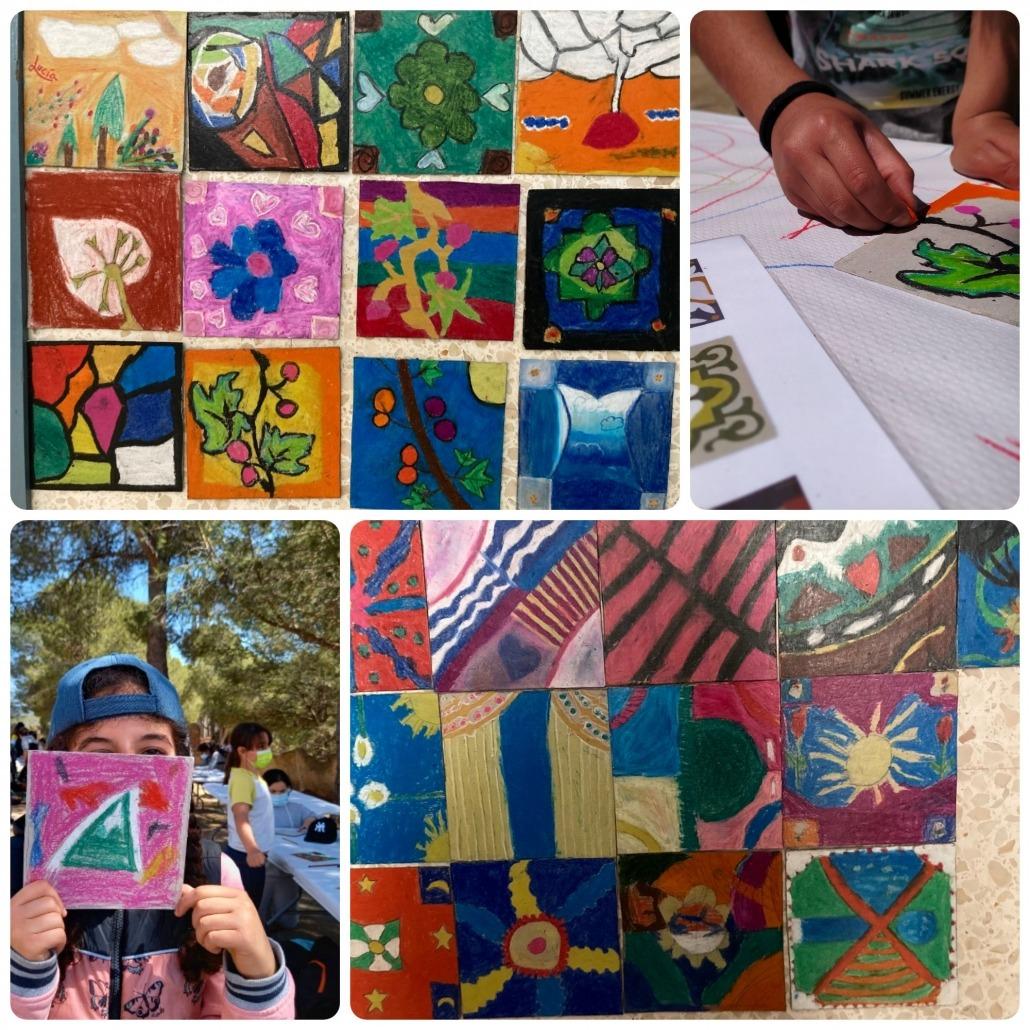 Collage-rajoles-escola-Eladi-Homs-Valls