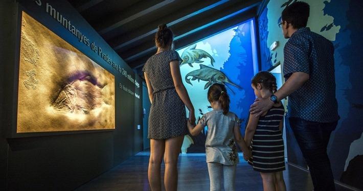 Exposicio Triàsic al Museu d'Alcover
